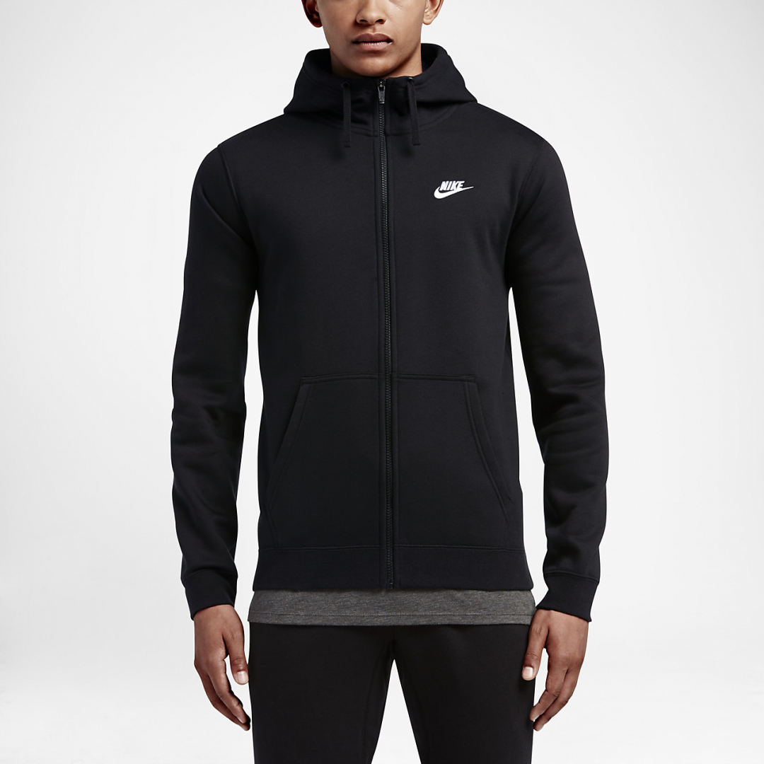 Мужская худи Nike Sportswear Club Fleece 804389-010
